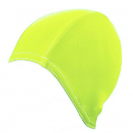 Czepek pływacki BATHING CAP FOR LONG HAIR fluo yellow GWINNER