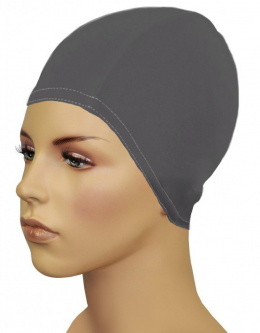Czepek pływacki BATHING CAP FOR LONG HAIR grey GWINNER