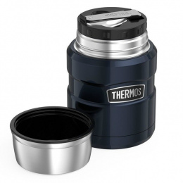Termos obiadowy z łyżką Thermos King 470ml THR184807 RED 9h HOT